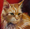 Cat Portrait by Painted Pets